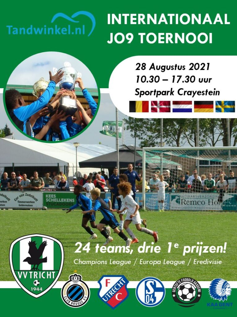 Poster Internationaal JO9 toernooi